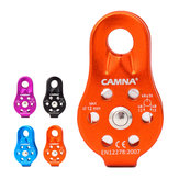 CAMNAL 26KN Aluminum Alloy Climbing Fixed Single Pulley Rescue Aloft Work Rappelling Equipment