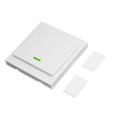 SONOFF® Wireless Remote Transmitter 1 Channel Sticky RF TX Smart For Home Living Room Bedroom 433MHZ 86 Wall Panel