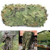 Red de camuflaje Jungle Camo Netting 4mX6m para Coche Carátula cámping Woodland militar Caza