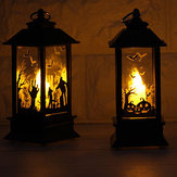 Hallowen Flame Lamp Electronic LED Candle Light Party Decorations
