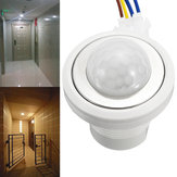 Infrared PIR Motion Sensor LED Light Security Detector Wall Mounted Delay Switch AC100V-240V