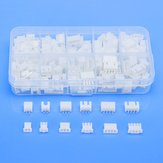 180pcs 6 Values 2.0mm 2 Pin 3 Pin 4 Pin Male Female DuPont Terminal Connector Plug Header Kits Sets With Plastic Box