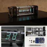 Non Assemblé IV-18 Kit d'Horloge de Tube Fluorescent DIY 6 Pilier d'Énergie d'Affichage Numérique avec Télécommande