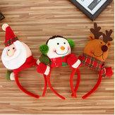 Noël bandeau Rennes bois Santa oreille cheveux Hoop Noël Party cheveux accessoires cerfs boucle de cheveux décoration