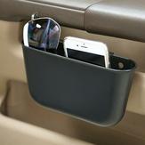 Portable Plastic Coche Almacenamiento Caja Coche Asiento Gap Pocket Teléfono titular Organizador
