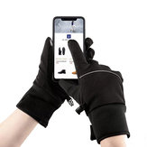 Xiaomi Mijia Touch Screen Gloves Riding Plus Velvet Warm Waterproof With Reflective Strip For Unisex