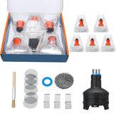 Lote de repuesto Cámara de llenado de calor Globo Bolsa Adaptador para Volcano Easy Valve Set Accesorios