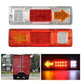 1.5W 24V LED Brake Tail Light Draaiende Signal Lamp voor Aanhangwagen Caravan Boot UTV