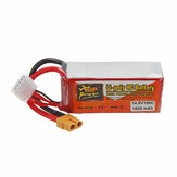 ZOP POWER 14.8V 1500mAH 100C 4S Lipo Battery With XT60 Plug For RC Models