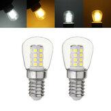 E14 3W SMD2835 Blanc Chaud Blanc Mini LED Lampe Réfrigérateur Ampoule Au Maïs AC220-240V