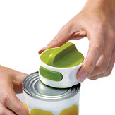 Can Opener Easy Twist Release Portable Space Saving Manual Stainless Steel Rotation Opening Tools
