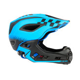 Children Protective Breathable Removable Racing Motorcycle Helmet With Tail Light
