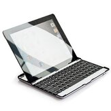 Ultra Thin Aluminum Alloy Bluetooth 3.0 Stand Keyboard For iPad 2 3 4
