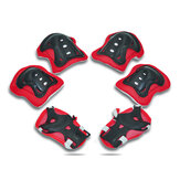 Original BIKIGHT 6Pcs Kid Roller Cycling Skating Skateboard Children Sports Protective Gear Elbow Knee Wrist Guards