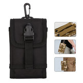 Outdoor Portable Tactical Storage Heuptas voor iPhone Xiaomi Mobiele telefoon onder 5.5 inch