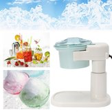 Original Electric Ice Shaver Machine Snow Cones Maker Auto Slushy Shaving Crusher 220V EU Plug Ice Maker