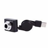 Original Módulo Raspberry Pi USB Cámara con rango de enfoque ajustable para Raspberry Pi 3/2 / B / B+