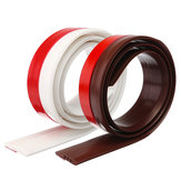 Draft Excluder Door Bottom Sealing Strip Rubber Draft Stopper Isolamento acustico