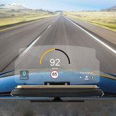 Universal HUD Head Up Pantalla Teléfono Celular de Coche Navegación GPS Reflector de imagen Montaje de Soporte