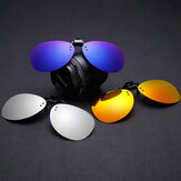 3Pcs Clip-on Night Vision UV400 Polarized Lens Glasses