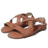 Original US Size 5-11 Women Flat Open Toe Roman Sandals