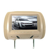 Car 7 inch TFT LCD Head Rest Monitor Hd Digital Video Screen Lcd Display with Pillow Universal