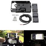 GPS chargeur de support de téléphone de navigation d'USB pour BMW S1000R S1000XR R1200GS R1200R