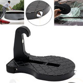 Original Guitar Shape Folding Car Doorstep Hook Latch Ladder Easy Access to Car Rooftop with Safety Hammer