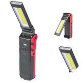 ESEN106 2LED + COB 400LM USB Rechargeable Foldable Car maintenance light LED Flashlight
