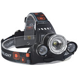 XANES 746 800 Lumens T6+XPE LED Bicycle Headlight Mechanical Zoom Outdoor Sports HeadLamp 4 Modes