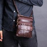 Мужская повседневная ретро-сумка с несколькими карманами Сумка Плечо