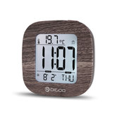Купить Digoo DG-C1 Multifunctional Electronical Digital Alarm Clock Temperature Thermometer Backlit LCD