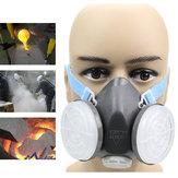 Anti Respirador de polvo Gas Safety Half Face Mascara Filtro de pintura a pistola química herramienta