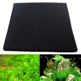 50x50x2 cm schwarz aquarium biochemische baumwolle filter schaum aquarium schwamm pads