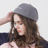 Original Retro Adjustable Cotton Round French Brimless Hats