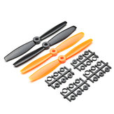 2 Pairs 6040 Bullnose 6x4 Inch ABS Propeller Prop CW/CCW for RC Drone FPV Racing