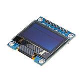 Original 3 piezas Geekcreit® 7Pin 0.96 Inch OLED Pantalla 12864 SSD1306 SPI IIC Serial LCD Módulo de pantalla para Arduino