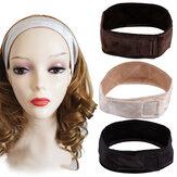 Wig Grip Scarf Head Hair Band Headbrand Adjustable Fastern Wig Flexible Velvet