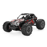 Xinlehong91371/162.4G4WD36 km / h Rc Coche W / luz LED Desierto Off-Road Monster Truck RTR Toy
