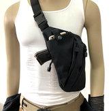 الرجالالنساءقماشالكتفcrossbodyالصدر حقيبة مكافحة سرقة بندقية التكتيكية الرافعة حقيبة بندقية زينة يسار / يمين