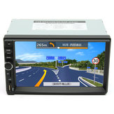 7 Inch Touch Screen 2 Din Car 1080P Radio Auto FM Aux/AUX/SD/MP5 Bluetooth And Camera