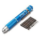 JACKLY 9 in 1 Electronics Repairtools Precision Screwdriver Kit