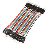 40 x 10cm 2.54mm Male To Male Breadboard Jumper Wire Cable