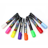 3mm Fine Bullet Tip Liquid Chalk Marker Pens 8 Neon Colors