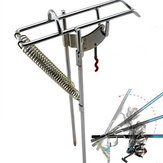 Double Spring Fishing Stand Bracket Fishing Rod Pole Stand Support Rod Pole Fishing Tackle Tools