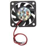 2 Broches 40x40x10mm PC Étui de Refroidissement pour Ordinateur Dissipateur Refroidisseur Ventilateur 12V 0.1A