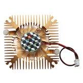 2 Pins 55x55x11mm 12V 0.1A Heat Sink CPU Cooling Fan PC Computer