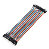 40pcs 20cm Male To Male Color Breadboard Cable Jumper Cable Dupont Wire