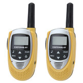 T-228 0.5W 20 Channels Backlit LCD Screen Walkie Talkie Yellow