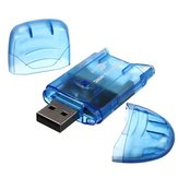 Mini Usb 2.0 Memory Multi-Card Reader Suitable for MMC SD SDHC TF